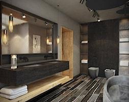 Łazienka styl Industrialny - zdjęcie od razoo-architekci
