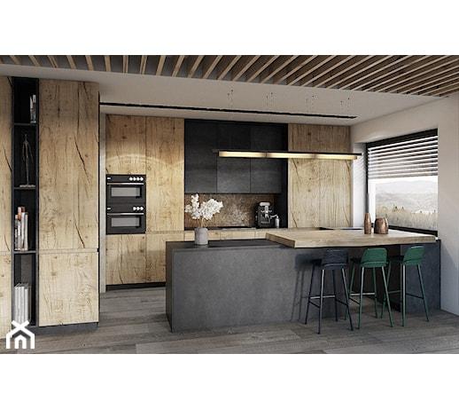 Zabudowana ściana W Kuchni Pomysły Inspiracje Z Homebook