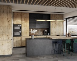 Kuchnia styl Nowoczesny - zdjęcie od razoo-architekci
