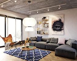 Salon styl Eklektyczny - zdjęcie od razoo-architekci