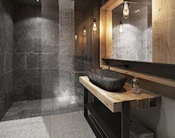 Czarna łazienka Aranżacje Pomysły Inspiracje Homebook