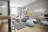 Salon - zdjęcie od razoo-architekci - homebook