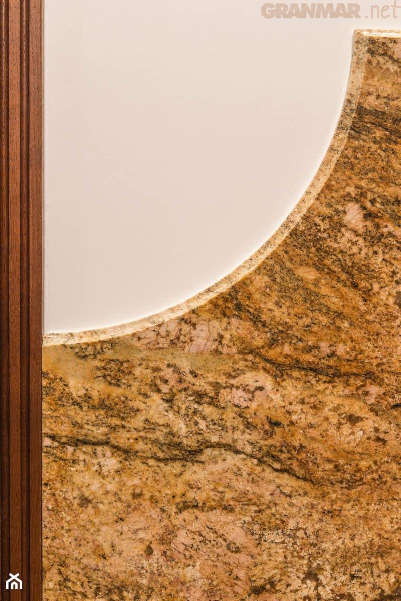 Bardzo dobry Obróbka paneli ścian. Granit Imperial Gold. - zdjęcie od GRANMAR KX89