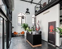 Biuro Browar Lubicz - Duże białe biuro pracownia, styl nowoczesny - zdjęcie od T3 Atelier