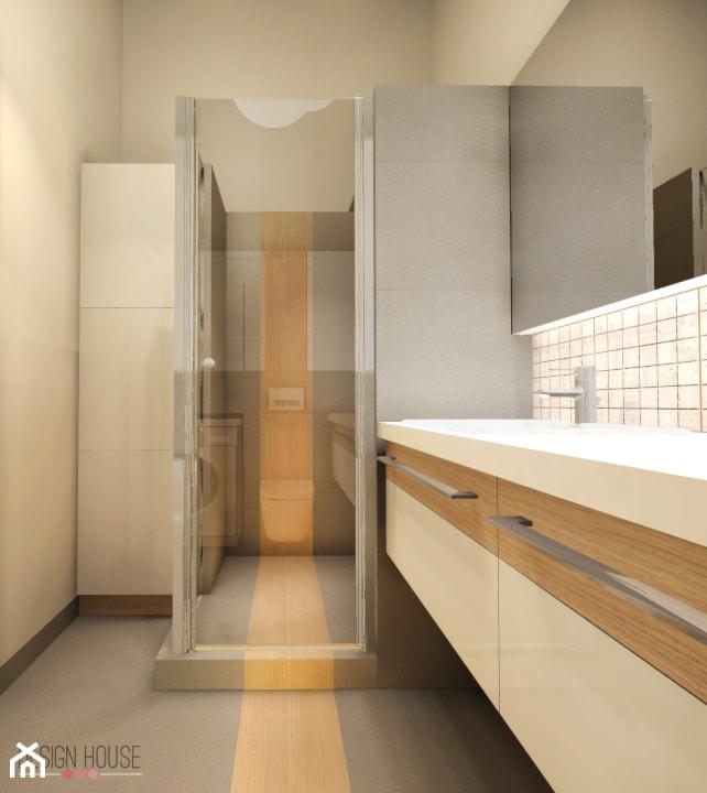 Aranżacje wnętrz - Łazienka: mieszkanie na Młynowej - DESIGN HOUSE. Przeglądaj, dodawaj i zapisuj najlepsze zdjęcia, pomysły i inspiracje designerskie. W bazie mamy już prawie milion fotografii!