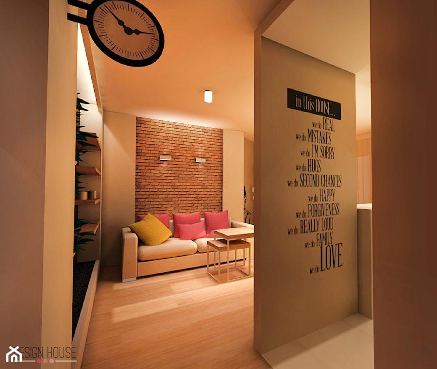 Salon po czony z kuchni zdj cie od design house for Www design house com