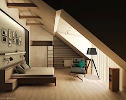 sypialnia w mieszkaniu w Białymstoku - zdjęcie od DESIGN HOUSE