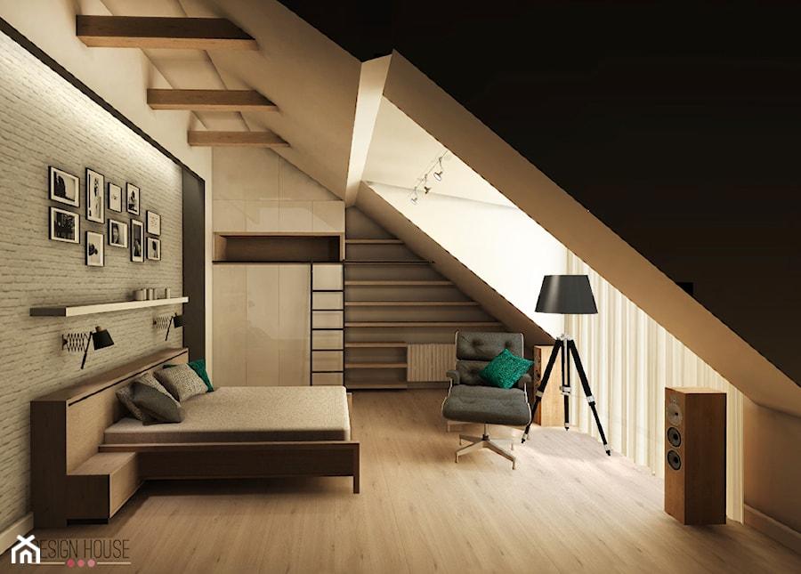 Sypialnia w mieszkaniu w bia ymstoku zdj cie od design house for Www design house com