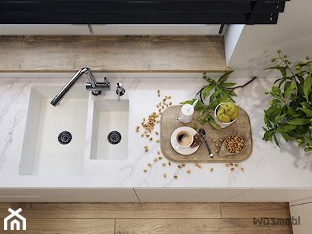 Aranżacje wnętrz - Kuchnia: Minimalistyczna kuchnia - Kuchnia, styl nowoczesny - WOSMEBL Rzeszów Meble na wymiar. Przeglądaj, dodawaj i zapisuj najlepsze zdjęcia, pomysły i inspiracje designerskie. W bazie mamy już prawie milion fotografii!