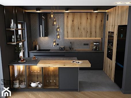 Aranżacje wnętrz - Kuchnia: Industrialna Kuchnia - Kuchnia, styl industrialny - WOSMEBL Rzeszów Meble na wymiar. Przeglądaj, dodawaj i zapisuj najlepsze zdjęcia, pomysły i inspiracje designerskie. W bazie mamy już prawie milion fotografii!