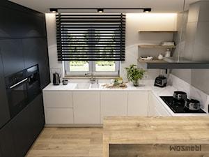 Minimalistyczna kuchnia - zdjęcie od WOSMEBL Rzeszów Meble na wymiar