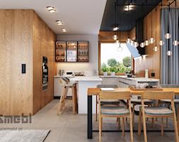 Kuchnia w domu jednorodzinnym - zdjęcie od WOSMEBL Rzeszów Meble na wymiar