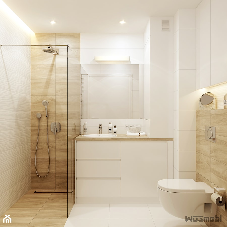 łazienka Bieldrewno Mała łazienka W Bloku W Domu Jednorodzinnym