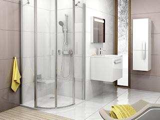 Łazienki z kabiną prysznicową
