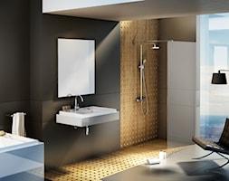 Salon kąpielowy z wanną i kabiną Walk-In Wall - zdjęcie od RAVAK
