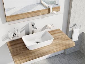 Czy warto zdecydować się na ceramiczną umywalkę nablatową? Sprawdzamy