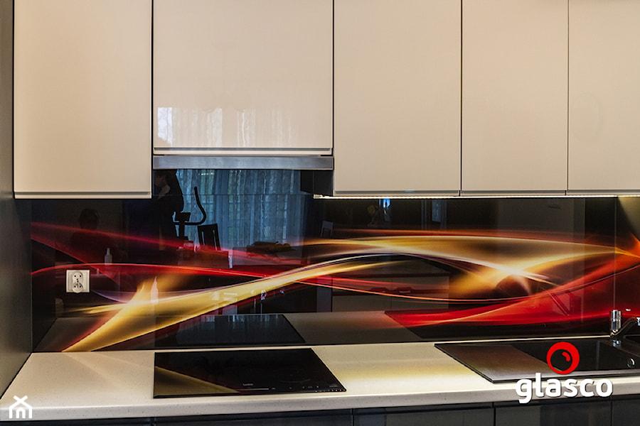 Glasco Liczy się EFEKT - Mała otwarta kuchnia jednorzędowa - zdjęcie od Glasco