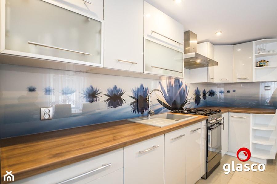 Glasco Liczy się EFEKT - Średnia otwarta kuchnia jednorzędowa - zdjęcie od Glasco