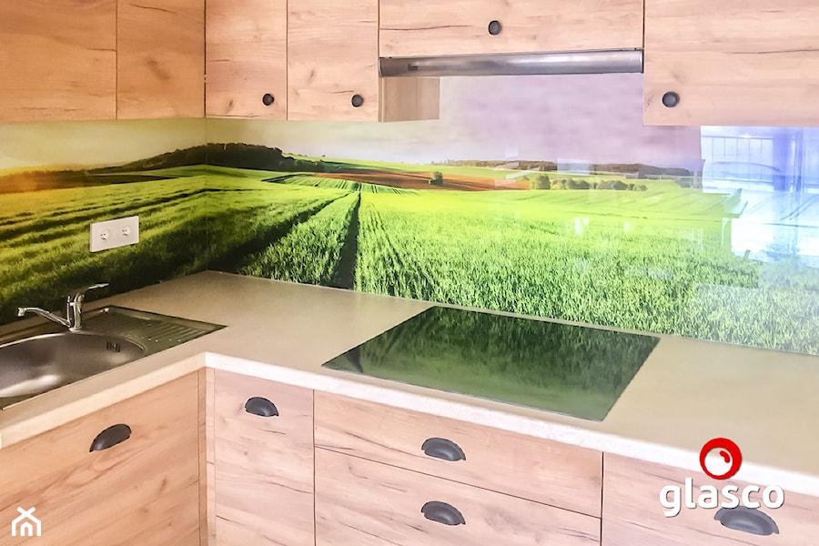 Glasco Liczy się EFEKT - Średnia kuchnia w kształcie litery l - zdjęcie od Glasco
