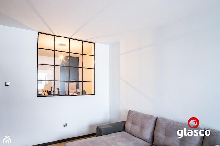 Glasco Liczy się EFEKT - Biały salon - zdjęcie od Glasco