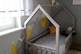 domek łóżko do pokoju dziecięcego