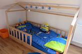 jak zrobić domek łóżko dla dziecka