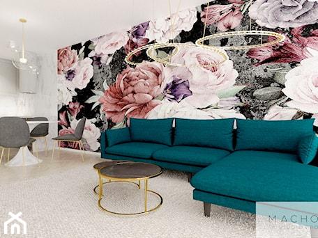 Aranżacje wnętrz - Salon: Elegancja w nowoczesnym wydaniu - salon - Machowska Studio Projektowe. Przeglądaj, dodawaj i zapisuj najlepsze zdjęcia, pomysły i inspiracje designerskie. W bazie mamy już prawie milion fotografii!