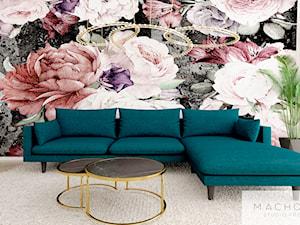 Elegancja w nowoczesnym wydaniu - salon