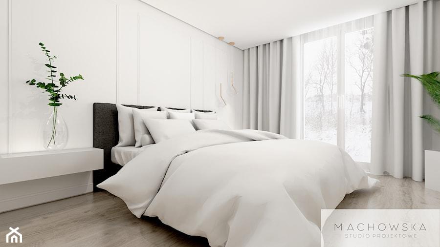 Z mocą granatu - sypialnia - zdjęcie od Machowska Studio Projektowe