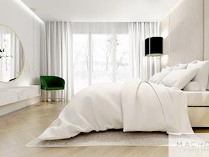 Elegancja w nowoczesnym wydaniu - sypialnia