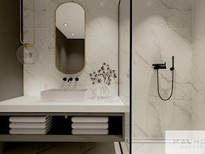 Elegancja w nowoczesnym wydaniu - łazienka
