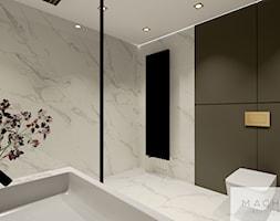 Elegancja w nowoczesnym wydaniu - łazienka - zdjęcie od Machowska Studio Projektowe - Homebook