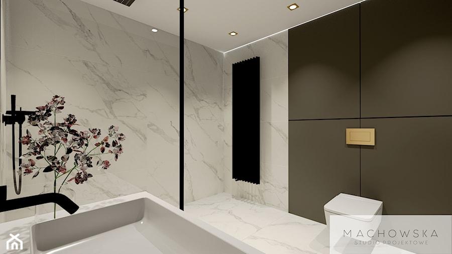 Elegancja w nowoczesnym wydaniu - łazienka - zdjęcie od Machowska Studio Projektowe