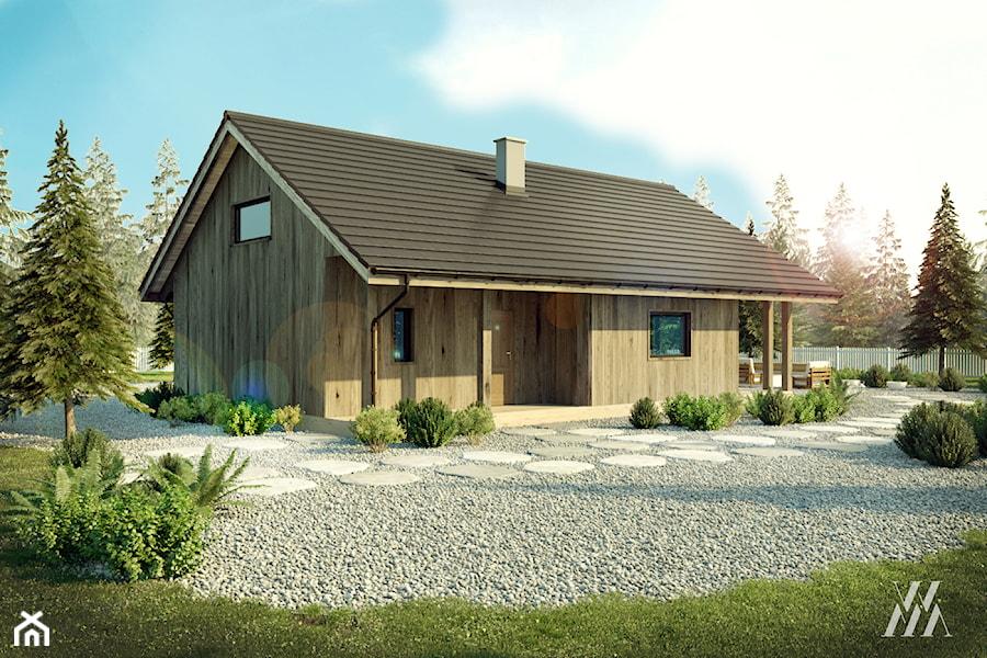 Zaktualizowano Nowoczesny dom drewniany, letniskowy - Domy, styl tradycyjny DE56