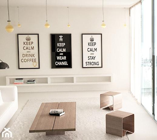 Wnętrze apartamentu w Gdańsku  zdjęcie od Minimal&co -> Salon Kuchni Gdansk
