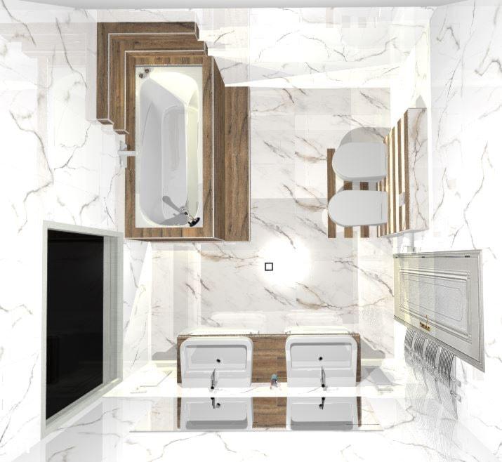Łazienka, styl klasyczny - zdjęcie od glazura.sklep - Homebook