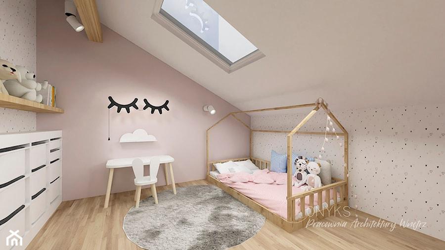 Pokój Sypialnia Rocznej Dziewczynki Zdjęcie Od Pracownia