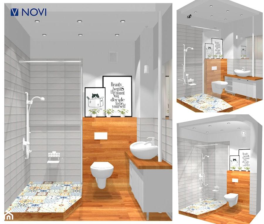 łazienka 3m2 Zdjęcie Od Noviprojektowanie Homebook