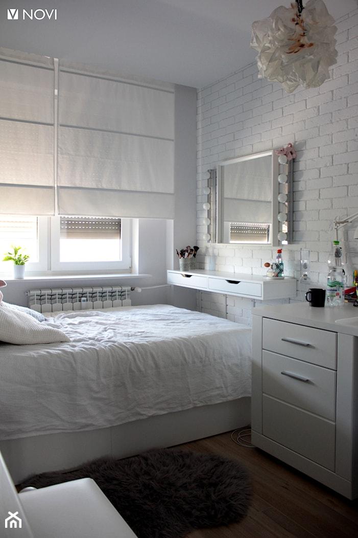 Biały pokój nastolatki - zdjęcie od NOVI_projektowanie - Homebook