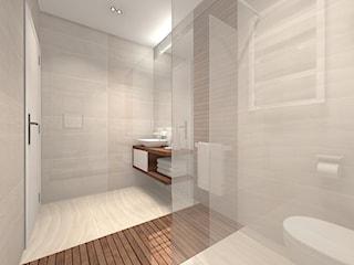 Łazienka w ciepłej stylizacji
