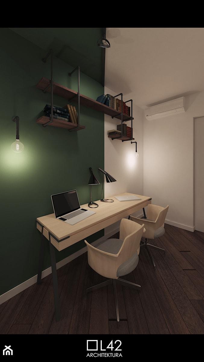 Aranżacje wnętrz - Biuro: SLIGHTLY INDENTED | #03A - Gabinet - L42 Architektura. Przeglądaj, dodawaj i zapisuj najlepsze zdjęcia, pomysły i inspiracje designerskie. W bazie mamy już prawie milion fotografii!