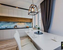 Mieszkanie pod wynajem - Kuchnia, styl skandynawski - zdjęcie od OptimumArt Pracownia Aranżacji Wnętrz - Homebook