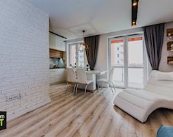Mieszkanie pod wynajem - Salon, styl skandynawski - zdjęcie od OptimumArt Pracownia Aranżacji Wnętrz - Homebook