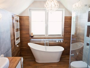 Łazienka w stylu SPA. - zdjęcie od KRUBA DESIGN