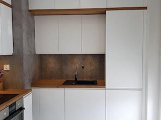 kuchnie lakierowane nowoczesne