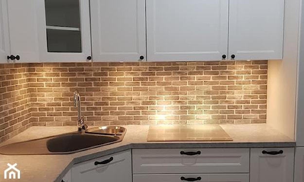 oświetlenie punktowe w kuchni