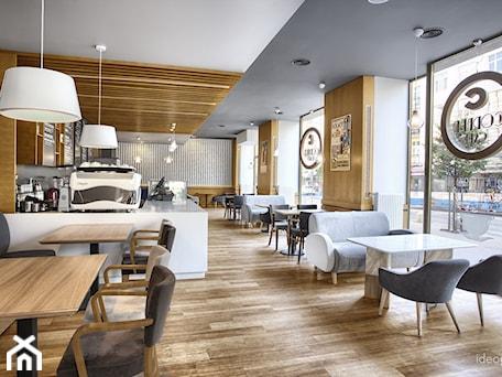 Aranżacje wnętrz - Wnętrza publiczne: Cafe Corner, Gdynia - Ideograf. Przeglądaj, dodawaj i zapisuj najlepsze zdjęcia, pomysły i inspiracje designerskie. W bazie mamy już prawie milion fotografii!