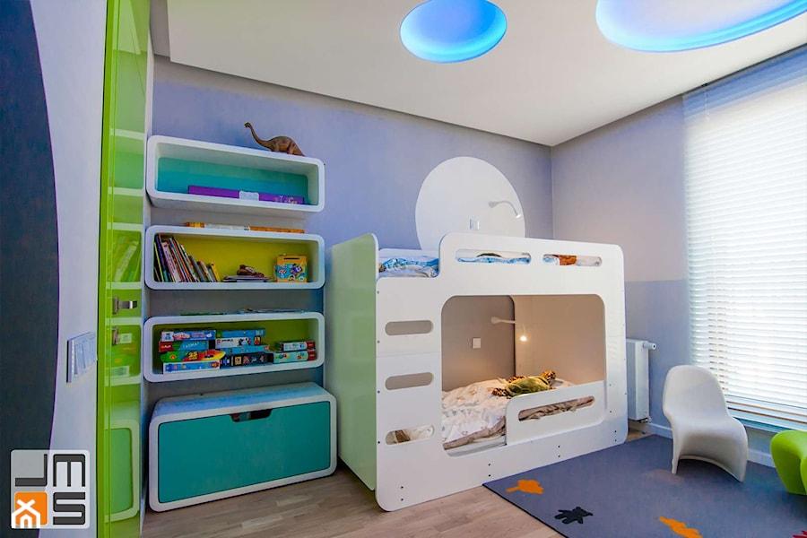 pomys� na wyko�czenie pokoju dziecięcego z piętrowym