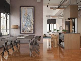 Jak ocieplić industrialną przestrzeń? Przytulny loft