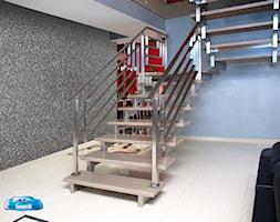 Inspiracje - Średnie wąskie schody dwubiegowe metalowe - zdjęcie od Francesco GUARDI Collezione